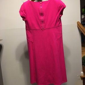 Diane Von Furstenberg Dresses - DIANE VON FURSTENBERG A LINE SCOOP NECK DRESS